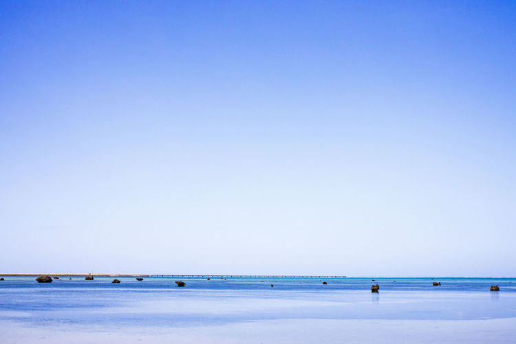 Blue Sky Scenics - Nature Clear Sky Sea Beach Nature Beauty In Nature
