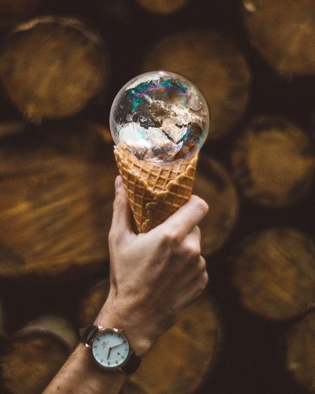Human Hand Human Body Part One Person Holding Real People Human Finger Personal Perspective Reflection Wristwatch Lifestyles Indoors  Close-up Women Day Bubble Wand Adult People Danielwellington