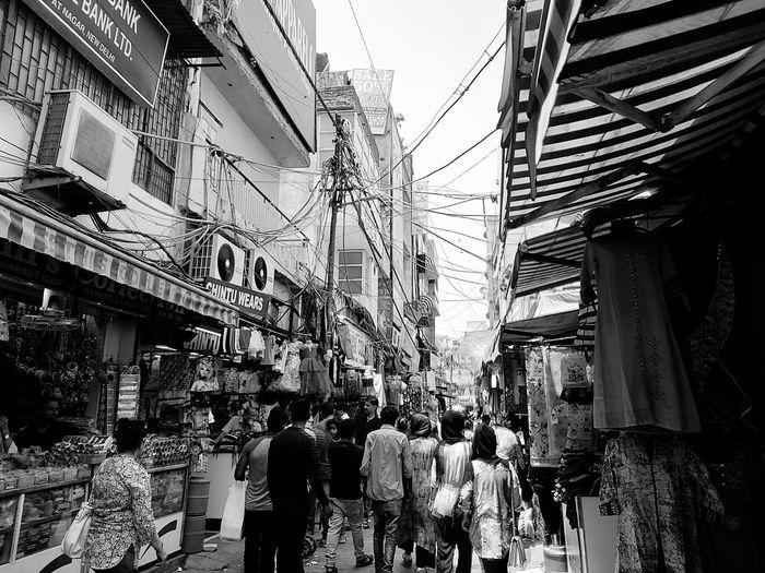 Walking through the crowds. CityLifeStyle Shopping Street Delhi Crowds Summer The Street Photographer - 2017 EyeEm Awards The Street Photographer - 2017 EyeEm Awards The Street Photographer - 2017 EyeEm Awards