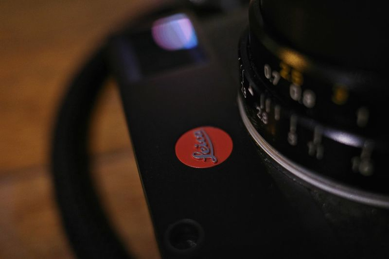 Close up Leica