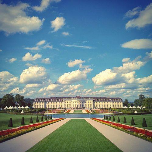 Home again ? Blüba Blühendesbarock Ludwigsburg Residenzschloss baroque palace