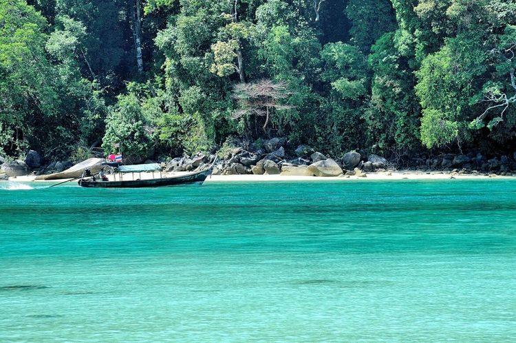 Moo koh surin Seascapes Green Phang Nga Thailand Andamanislands