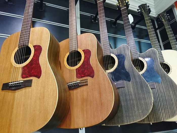Guitar Musical Instrument Hanging Music Wood - Material Close-up Musical Instrument String Acoustic Guitar Musical Equipment