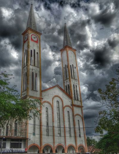 Church Traveling Art I Love Colombia