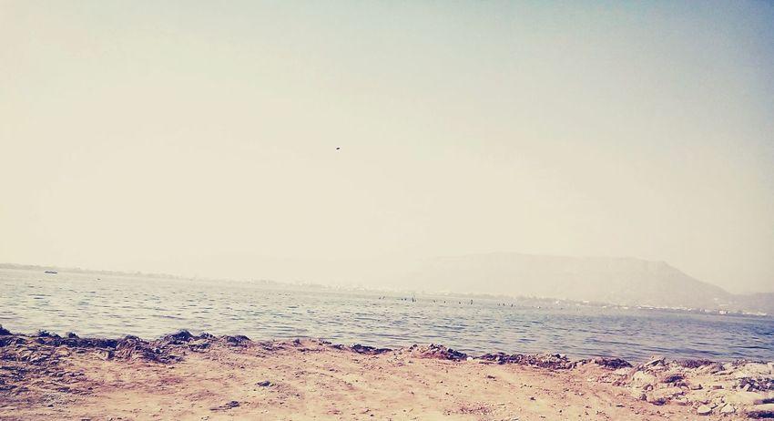 Anasagar Lake, Ajmer Beauty In Nature Water 📷📷✌✌🌎🌎 Lake View