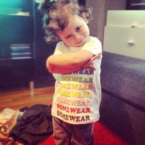 Like a baws! @somewear @cheapmonday Somewear Talkintome Throwbackthursday  Cheapmonday babyclothes baby ayla