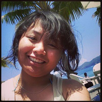 Yung feeling na mukha na akong aeta (ita). ??? Summerescape2013