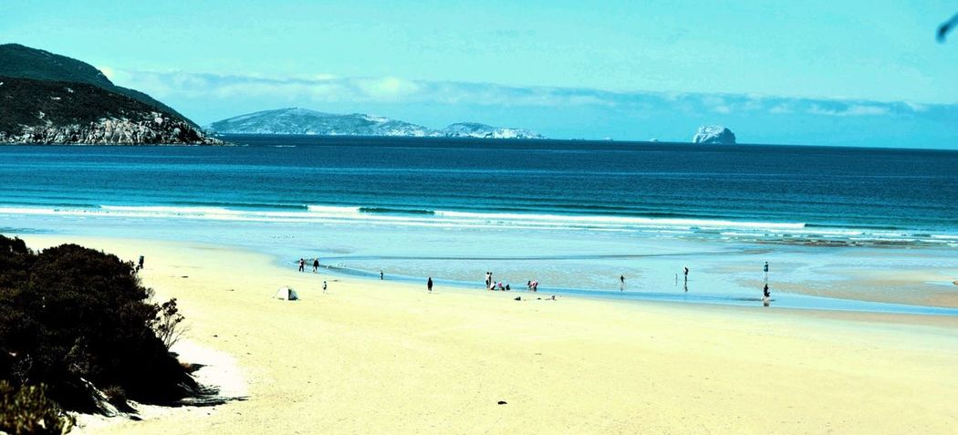 Beach Sea Water Sky Outdoors Sand Real People Day Large Group Of People People Best Photos Lovly Place Horizon Over Water Nature Blue Cloud - Sky Wether Blue Sky Blue Wave Blue Water Mountain Victory
