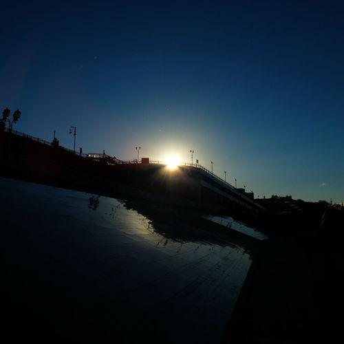 Beauty In Nature Blue Idyllic Nature Russia Sky Sun Sunbeam Sunlight Sunset Tyumen'