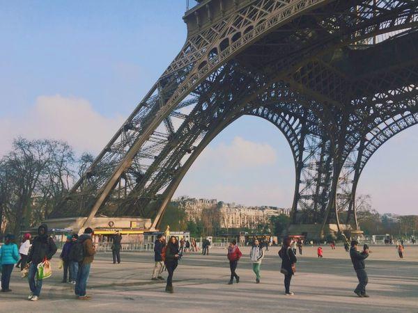 Effel Tower La Tour Effel Paris, France  France Traveling Travel