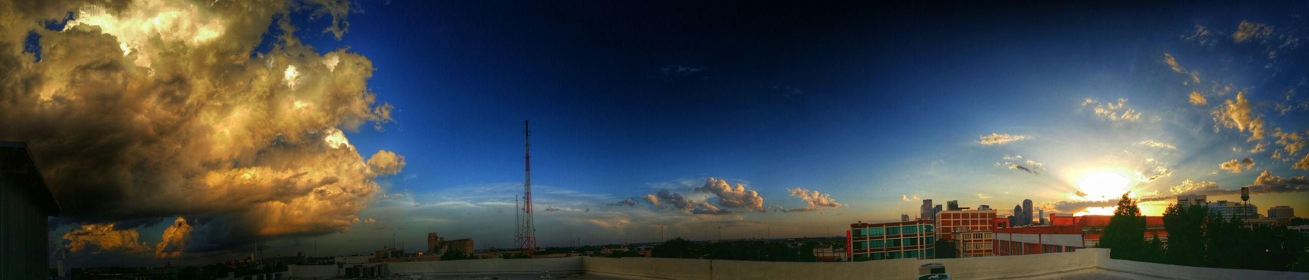 Dallasskyline Skyline Sunset Deepellum Dallas Tx Cloudporn