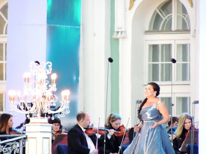 Netrebko Great Voice Sankt-peterburg Day Of The City Russia Concert Classic Orchestra Concert  The Photojournalist - 2016 EyeEm Awards