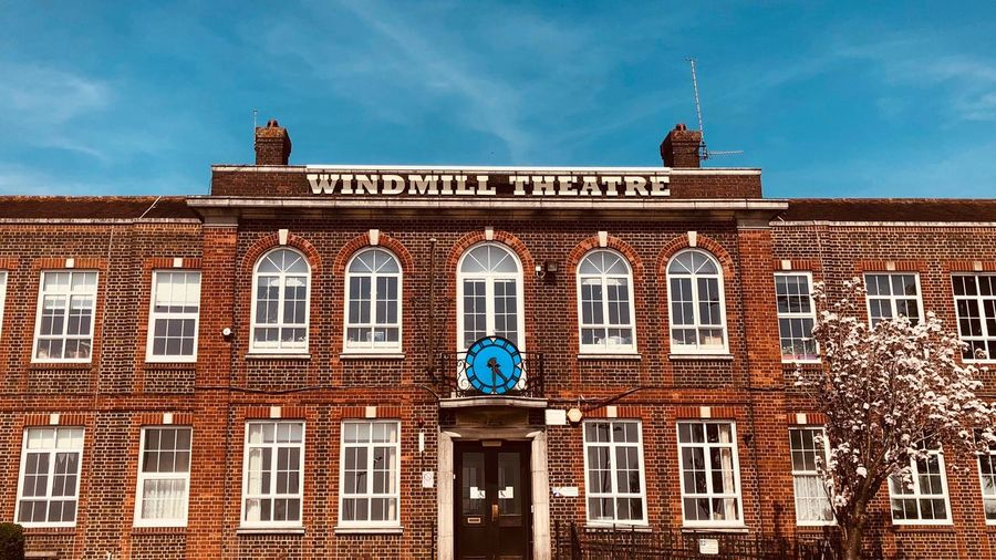 Wes Anderson School Brighton And Hove Brighton Uk Windmill Blatchington School Architecture Building Exterior Built Structure Sky Building Window The Past The Architect - 2018 EyeEm Awards