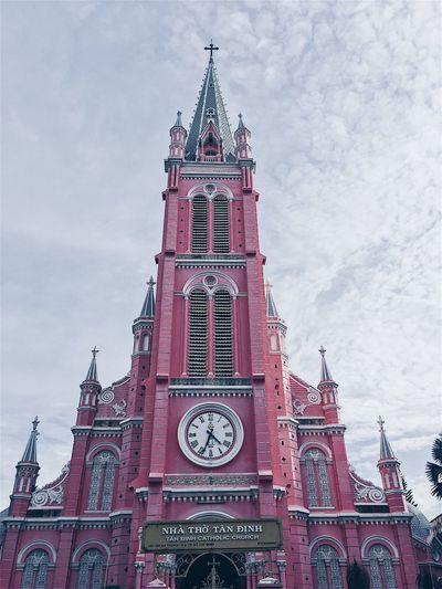 Peace⛪️ Tandinhchurch Vietnam Pink Color