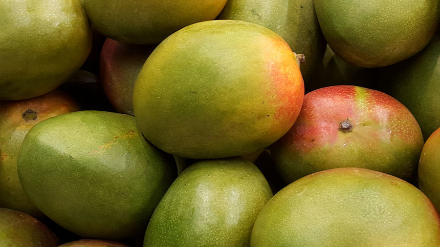Abundance Close-up Food Food And Drink Freshness Fruit Healthy Eating Large Group Of Objects Organic Ripe Still Life Mango Full Frame