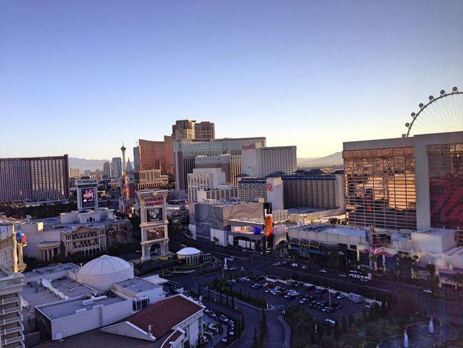 Sunrise... morning from Vegas!