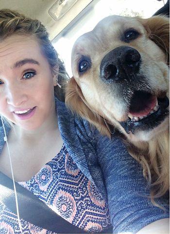 This is my doggo Dog Car Ride  Love