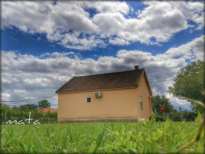 Hello peopel! Today's day from my backyard. :) HDR Landscape Clouds And Sky Nature