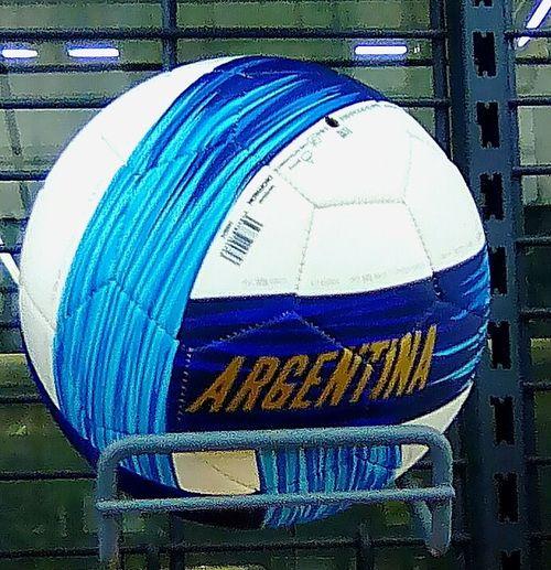 Argentina Mundial Calcio Argentina Footbol Multi Colored Close-up