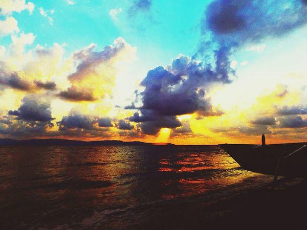 Cloudy afternoon! Enjoying Life Cloud And Sky Beach
