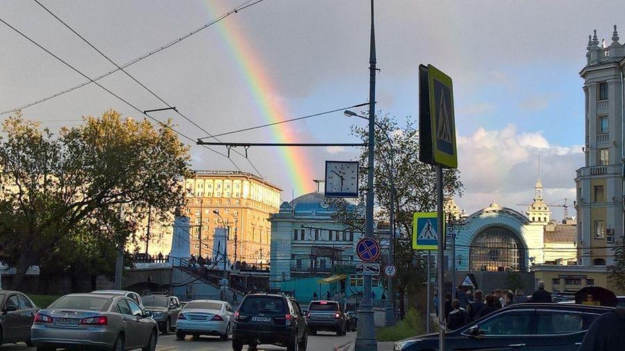 Belorussky Rail Terminal Moscow City No Filters  City Life