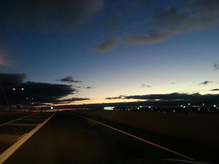 sky line Sky Line Sunset...
