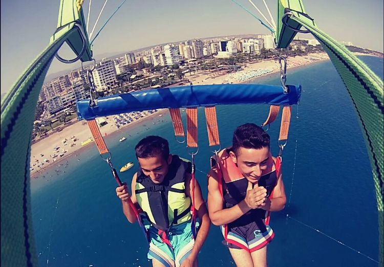 Parasailing Extreme Holiday Summertime
