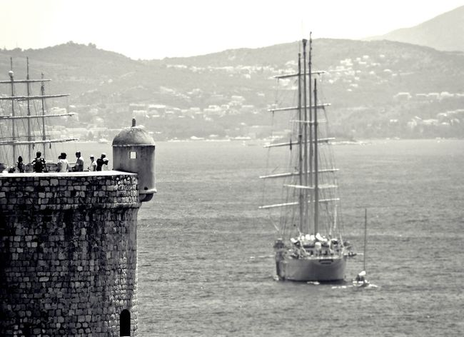 Black And Withe Dubrovnik, Croatia Dubrovnik Croatia ♡ Croatia Eye4photography  Blackandwhite Boat Travel Photography Summertime Traveling Old Town Amazing View Amazing Place