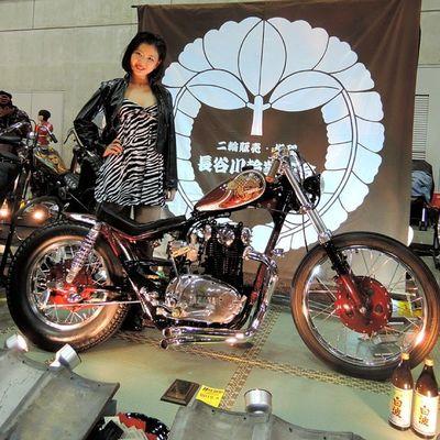 Yokohama hotrod custom show 2013 Hcs2013 Yamaha Xs650 Chopper bobber