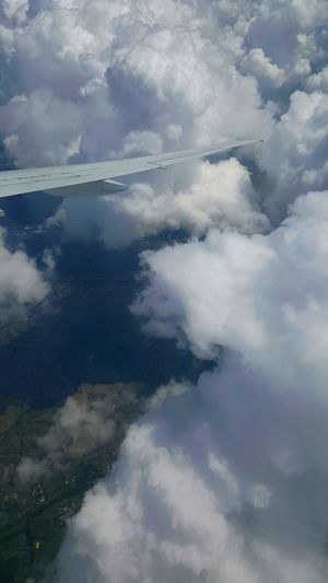 Cloud - Sky Aerial View Nature Weather Reflection Cloudscape No People Outdoors Storm Cloud Day Water Beauty In Nature Scenics Storm Fog Landscape Backgrounds Sky Long Goodbye Flying Fly Plane Window Planewindowview Sky And Clouds Wings