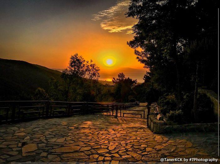 Izmir Teleferik Günbatımı Sunset #sun #clouds #skylovers #sky #nature #beautifulinnature #naturalbeauty #photography #landscape
