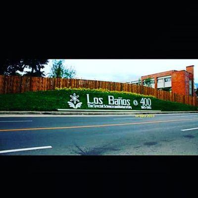Viva Los Baños . Viva Bañamos ... 400thfestive cto.