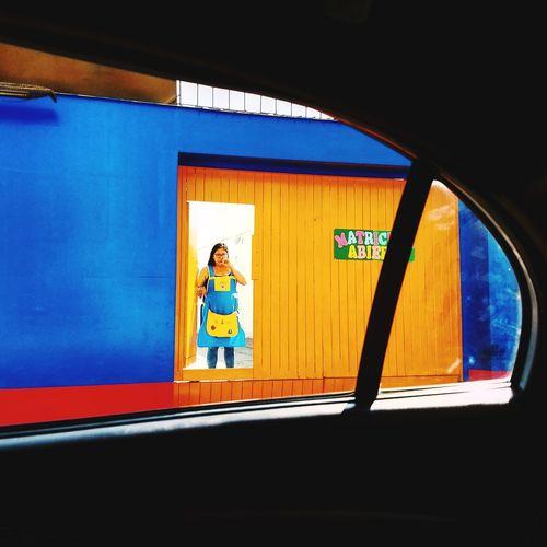 In frame. VSCO EyeEm Selects Stories From The City Full Length Men Standing City Window Architecture Built Structure Street Art Open Door The Street Photographer - 2018 EyeEm Awards