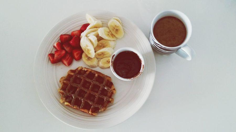 Move over, Max Brenner The EyeEm Breakfast Club Breakfast Series Belgian Waffles