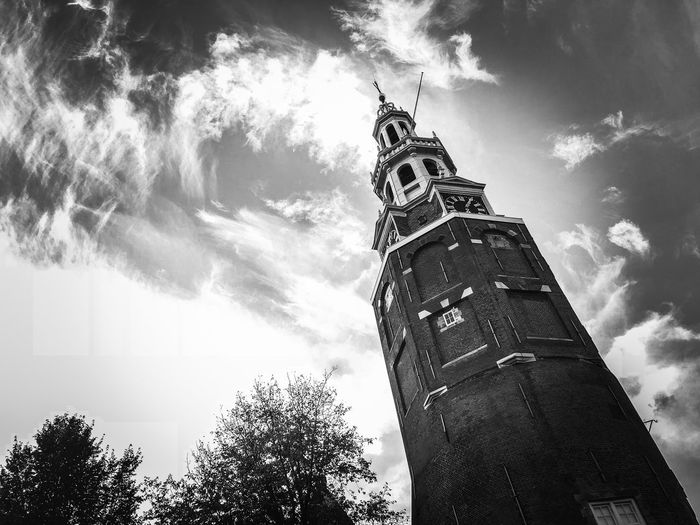 Sky Low Angle View Cloud - Sky Architecture Tree Built Structure Building Exterior Nature Tower Plant Belief Religion Place Of Worship Spirituality Building The Past No People History Day Outdoors Spire