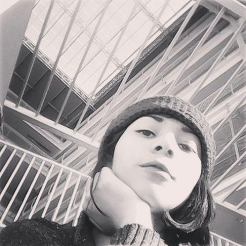 Black & White Adolescente Hipster Style Photo♡