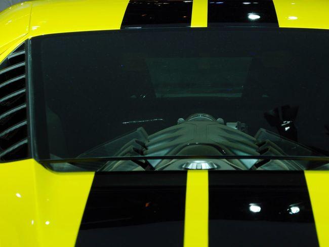 Car Yellow Sport Power Horse Power GT Expo 2016 Brazil SP