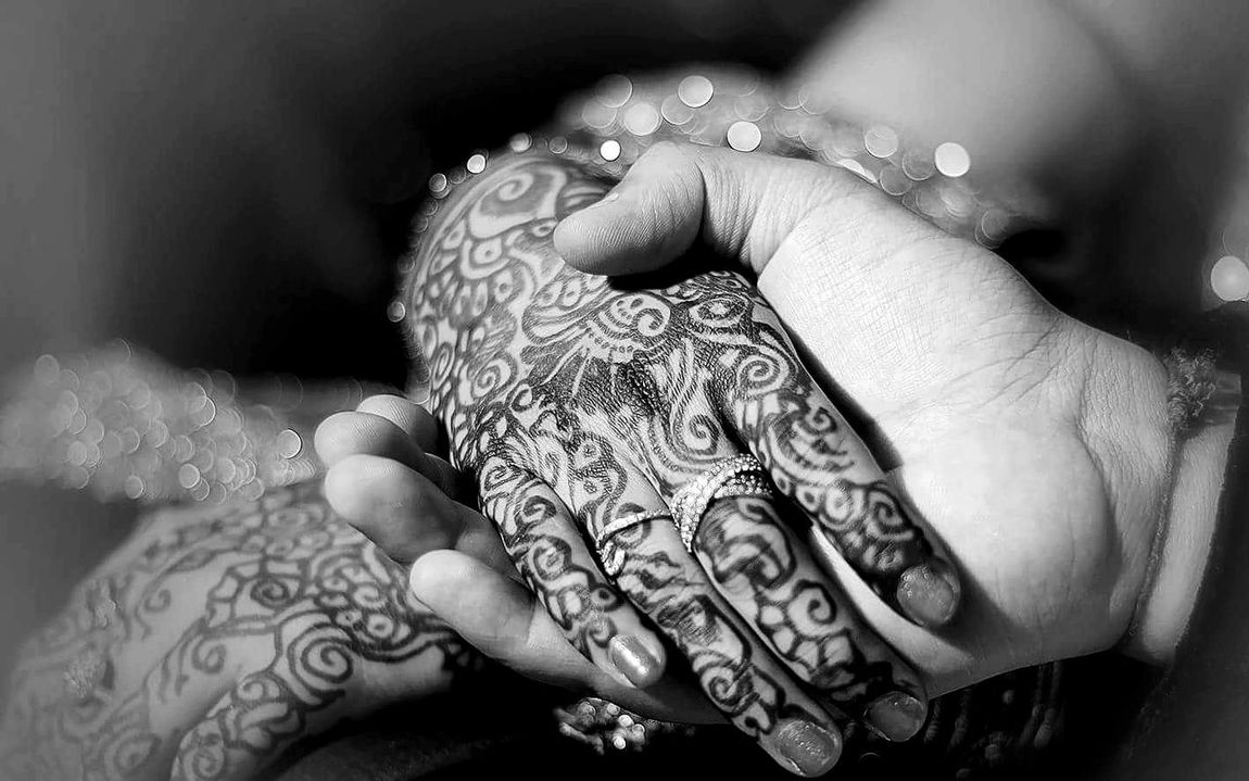 RePicture Growth Showcase: December Marriage Ceremony Blackandwhitephotography Holding Hands EyeEm Best Shots - Black + White The Week Of Eyeem