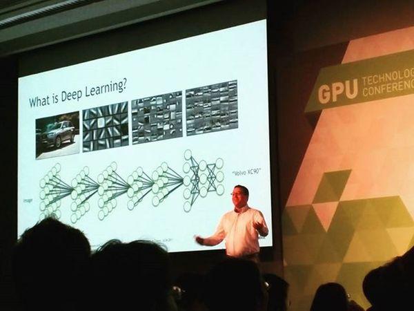 已進入到無所不深度學習的世代了 Deeplearning Gpu Nvidea TICC Taipei