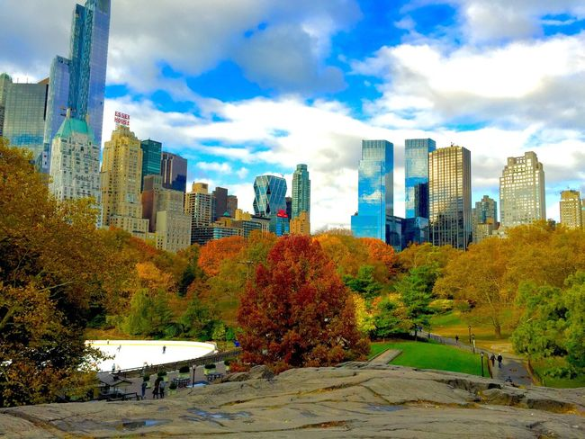 Central Park NYC Bigapple Cityscapes Fall Colors Autumn Holiday Showcase March