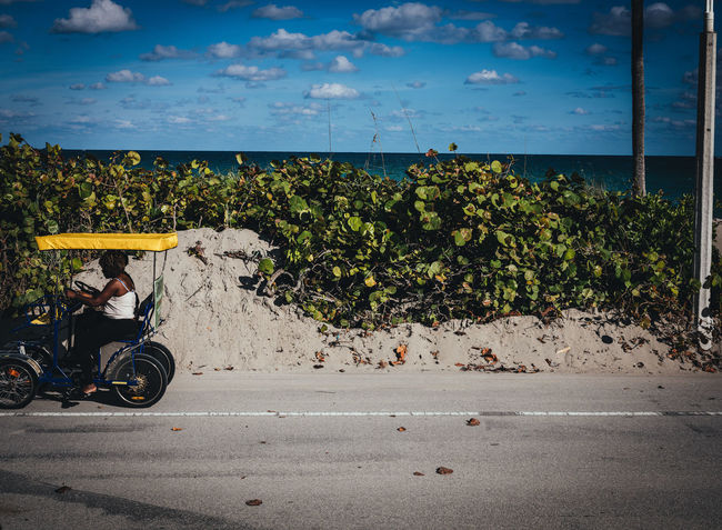 Rent Me Beach Photography GFX50s Nature Transportation Bike Blue Sky Cloud - Sky Day Florida Fujifilm_xseries Outdoor Photography Photographyisthemuse