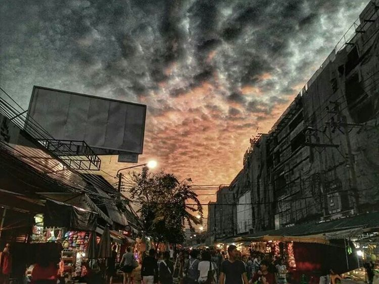 Jjmarket Streetphotography View Great View Street Market Bangkok Thailand