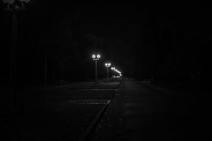 Spooky walk in the park. 👻 Night No People Illuminated The Way Forward Outdoors Walk In The Park Walk At Night Eye4photography  EyeEm Selects Outdorphotography Be. Ready. Getting Inspired Exeptional Photographs Nature_collection EyEmNewHere Getting Creative Black Background Mood Captures Beauty In Nature Blackandwhite Black And White Landscape_Collection Beauty Is Everywhere  Personal Perspective EyeEm Masterclass