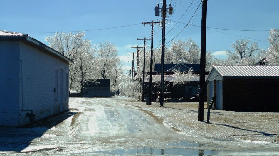 Visual Journal January 17, 2017 Western, Nebraska - January 2017 Ice Storm : The Melting A Day In The Life Canon FD 50mm F/1.8 Extreme Weather Eye For Photography EyeEm Best Shots EyeEm Gallery FUJIFILM X-T1 Icicles MidWest My Neighborhood Nebraska Weather No People Photo Diary Photo Essay Photography Power Line  Rural America Series Small Town America Small Town Stories Storytelling Visual Journal Winter Winter_collection Wintertime