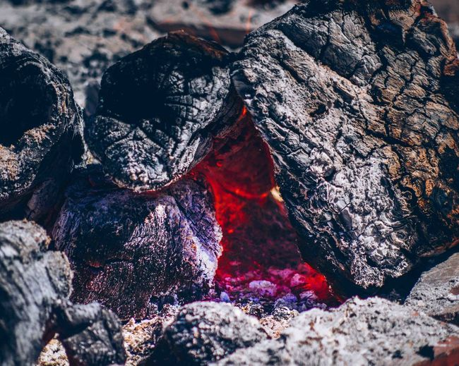 CLOSE-UP OF RED OBJECT