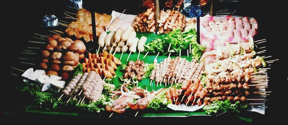 Food Barbeque Shilin Night Market Taiwan