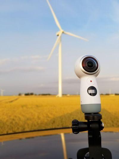 Gear 360 Technology Wind Turbine Samsungphotography Gear360 Samsung