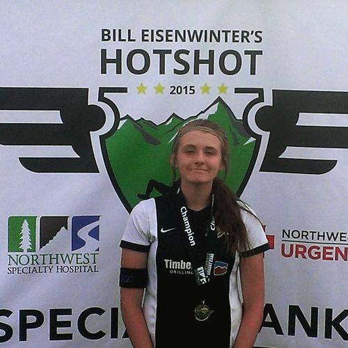 Hotshot tourney Champions FirstPlace Soccer K27 ThatsMe Selfie ✌ Idaho