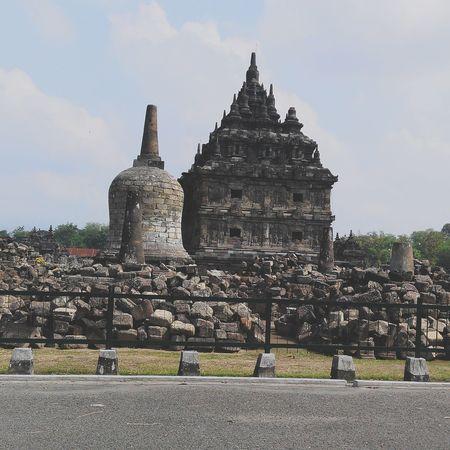 Tample Plaosantemple Budha Wonderful Yogyakarta