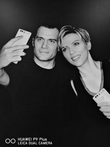 Leicacamera Huaweiphotography Monochrome Henrycavill Scarlett Johansson